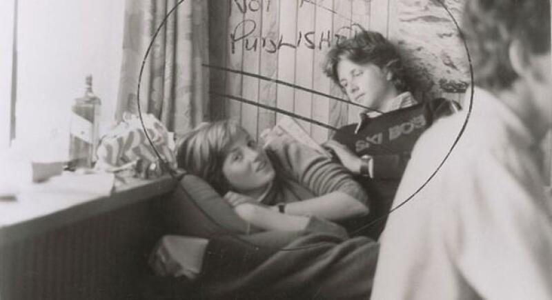 La imagen fue tomada el 26 de febrero de 1981.