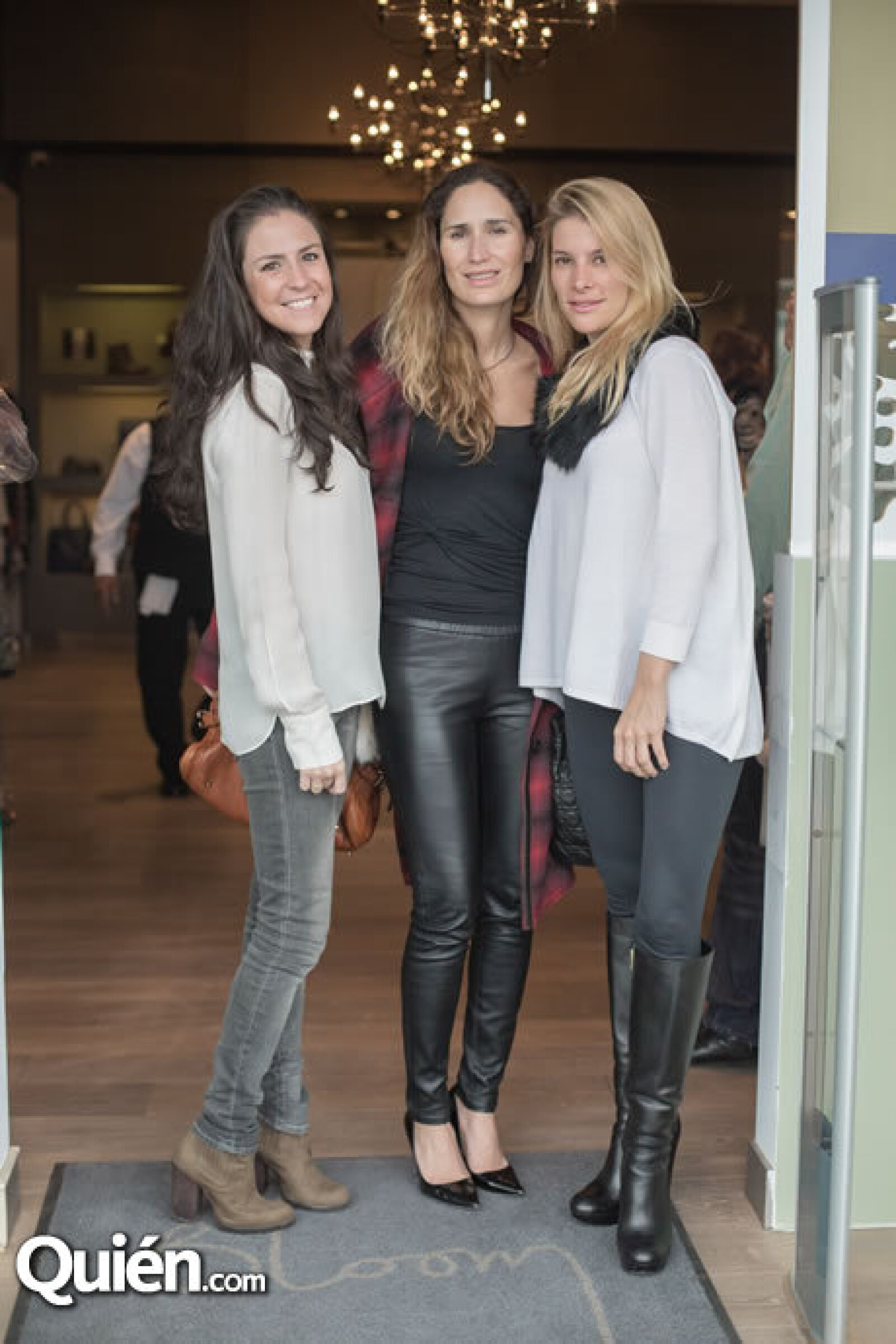 Paulina Henaine,Daniela Garza,Lizette García