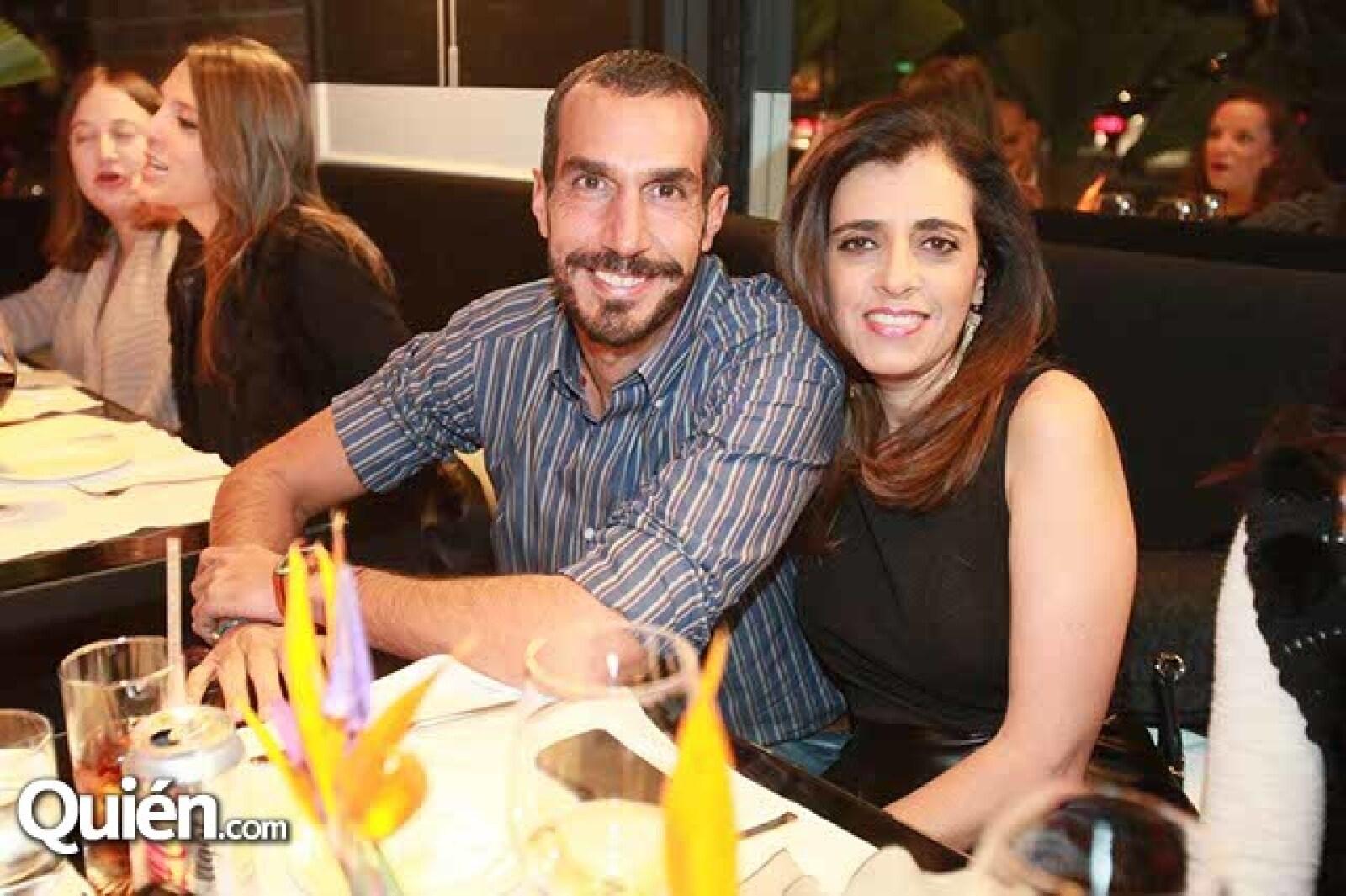 Omar Zairik y Karla Hakim