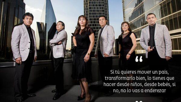 Los Ángelez Azules/Grupo musical