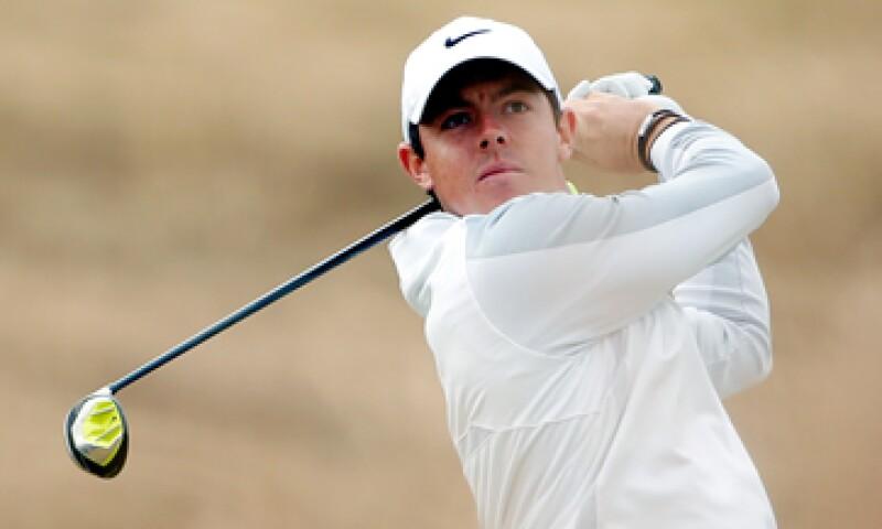 El mejor golfista, Rory McIlroy, es patrocinado por Nike. (Foto: Getty Images )