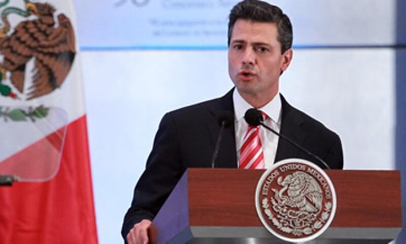 Enrique Peña Nieto dijo que el diálogo dentro del Pacto por México se ha restablecido. (Foto: Notimex)