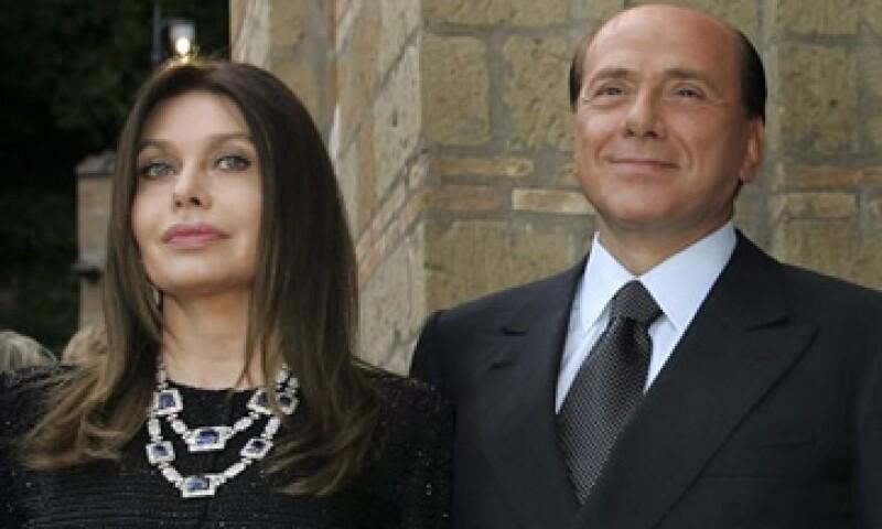 Veronica Lario, ex esposa de Silvio Berlusconi, dijo que ya no podía con un hombre que frecuenta a menores.  (Foto: Reuters)