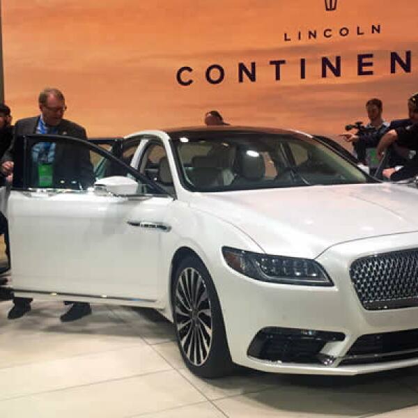 El nuevo Lincoln Continental, especial para el mercado de lujo de China y EU.