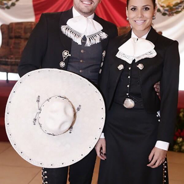 Edgar del Bosque y Sofía Vazquez