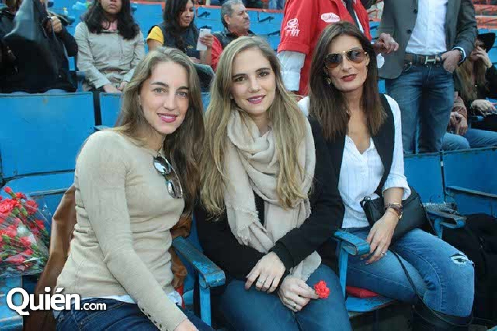 Lucía,Daniela y Lorena Hernández