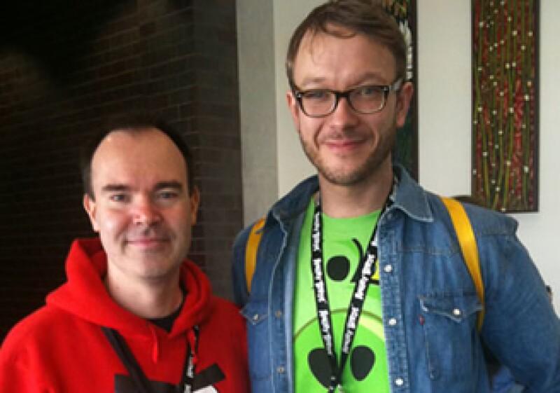 Peter Vesterbacka (izquierda) y Ville HeiJari tienen planes importantes para hacer crecer su marca. (Foto: CNNMoney)