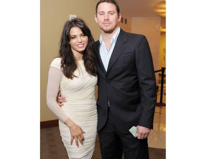 El actor Channing Tatum y su esposa Jenna Dewan-Tatum esperan a su primer hijo; el bebé nacerá en 2013, confirmaron sus representantes.