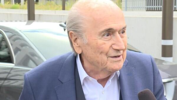 Joseph Blatter comparece ante la justicia por supuesta corrupción en la FIFA