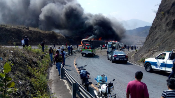 Accidente en Puebla