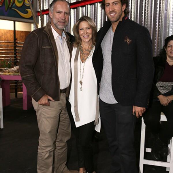 Harry, Miriam y Jaime Tabachnik