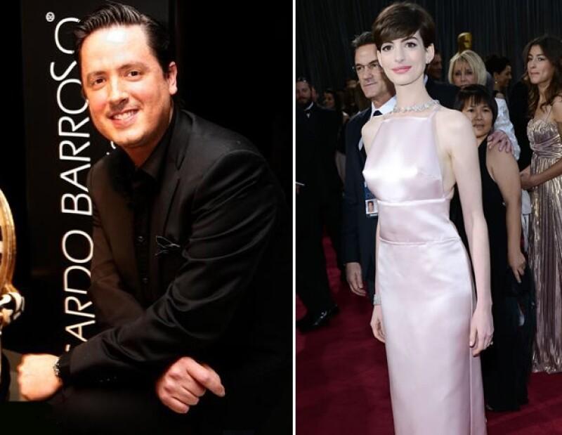 Ricardo Barroso criticó el look de la ganadora del Oscar en la categoría `Mejor Actriz´, al mencionar que lucía muy en su personaje: `miserablemente vestida´.