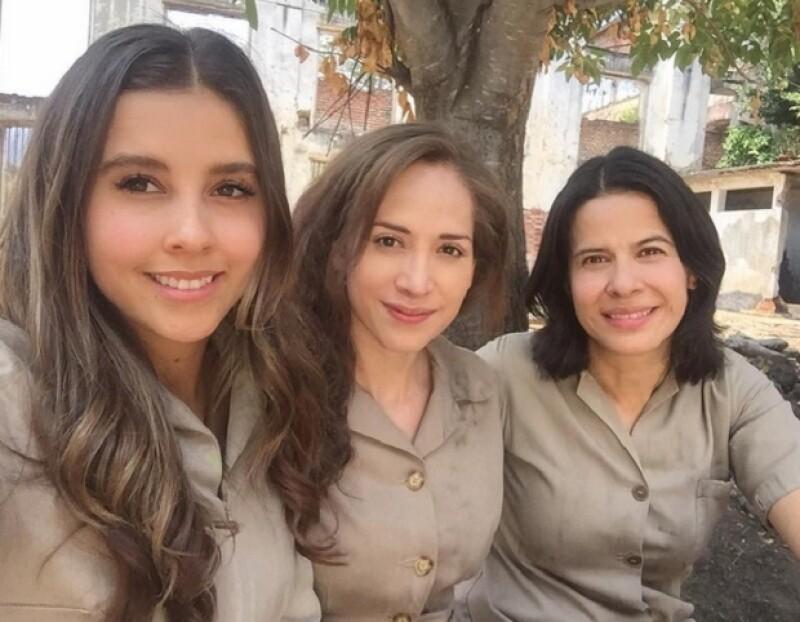Actualmente se encuentra filmando al lado de Paulina Goto y Arcelia Ramírez.