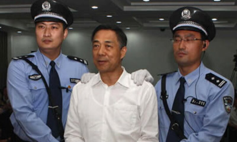 El expolítico chino tiene el derecho de apelar en un plazo de 10 días a partir del lunes. (Foto: Reuters)