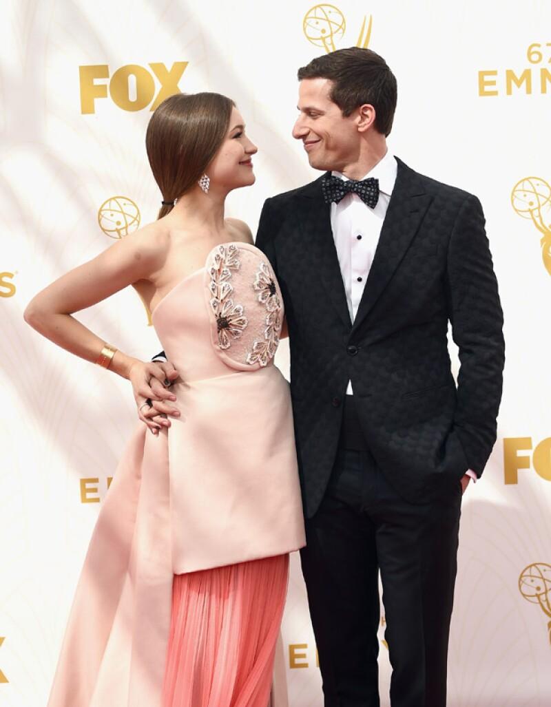 Andy Samberg y Joanna Newsom.