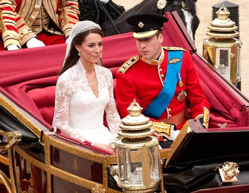 La boda fue de los eventos más relevantes del 2011.