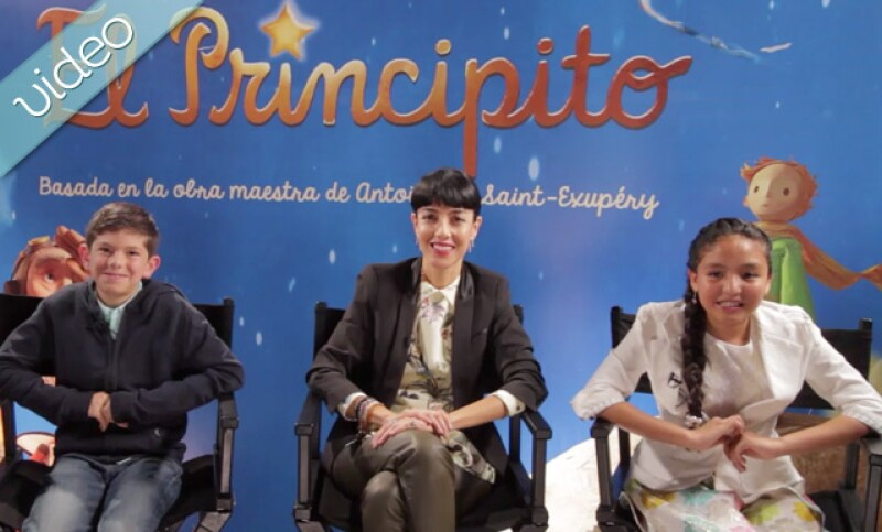 Platicamos de infancia, libros y amor verdadero con Ceci Suárez y los niños que prestan su voz para el doblaje en español de la película El Principito