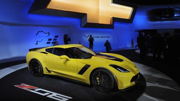 El Chevrolet Corvette Z06 hace su aparici�n en Detroit