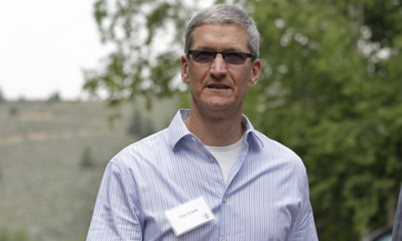 Tim Cook recibió adjudicación de acciones en 2011. (Foto: AP)