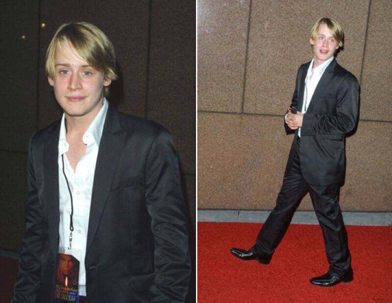 Hace más de una década, el joven actor aún lucía enfocado en su carrera.