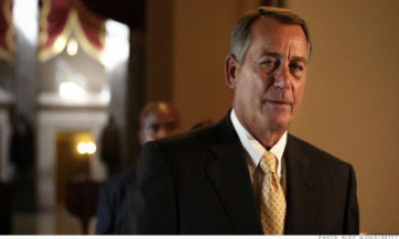 El líder republicano John Boehner accedió a las demandas de la parte más radical de su partido. (Foto: Cortesía CNNMoney)