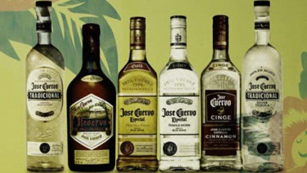 Los productos que ofrece la marca José Cuervo. (Foto: Tiwtter/@JoseCuervo )