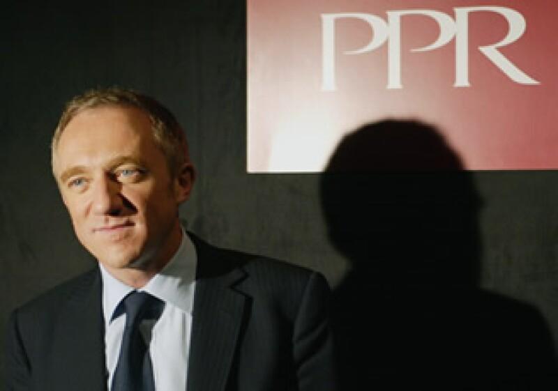 François-Henri Pinault tomó las riendas de la empresa PPR en abril de 2003. (Foto: AP)