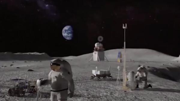 Nasa en la luna