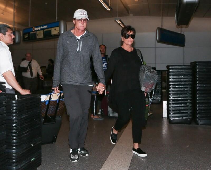 La imagen fue tomada el pasado 2 de abril en el aeropuerto de Los Ángeles.