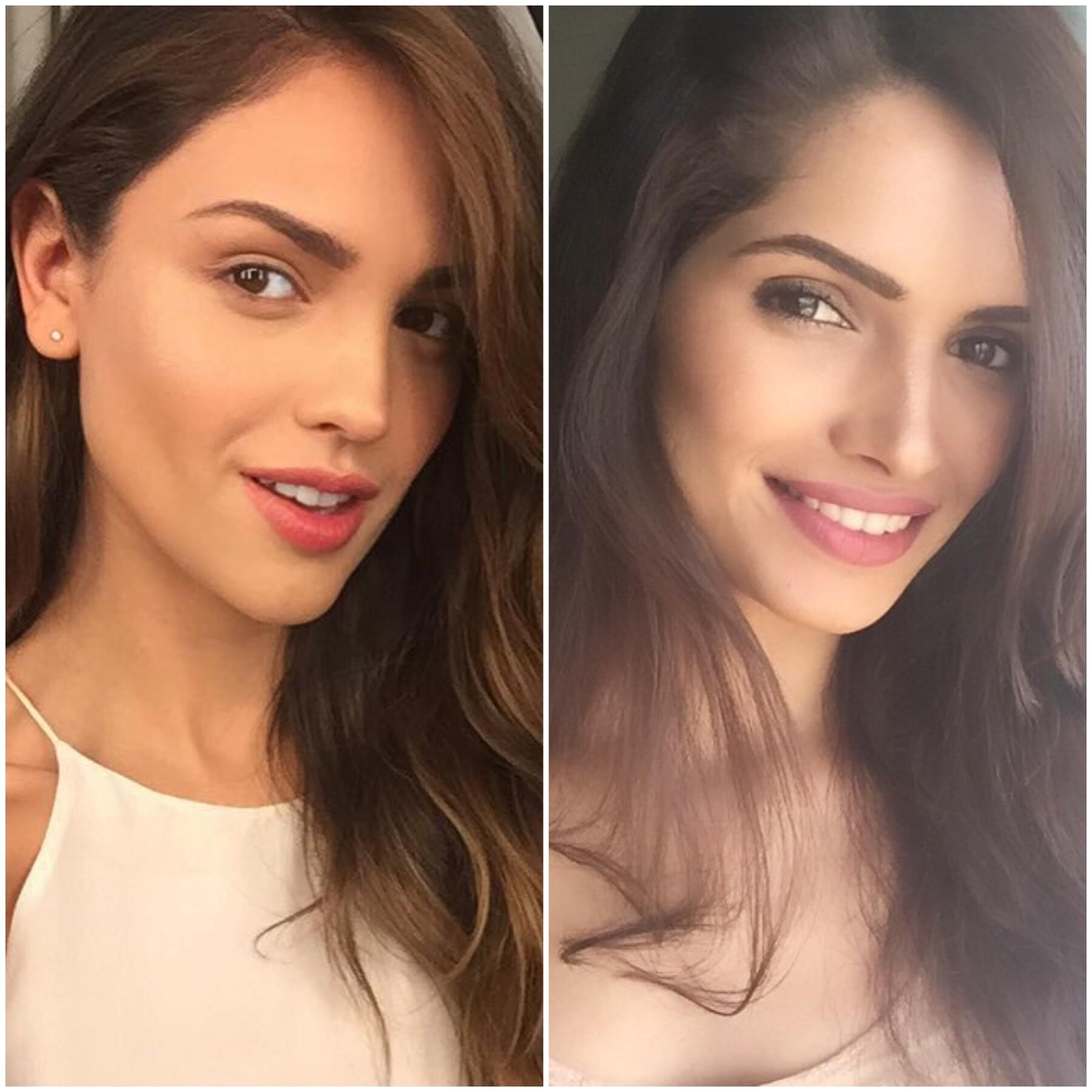 Eiza González y Vartika Singh.