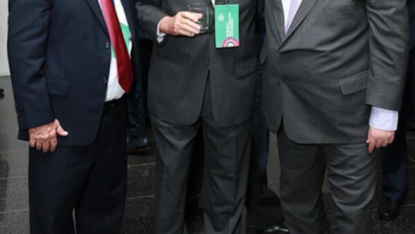 Amel Elizondo,Benito Winterman y Carlos Bremer