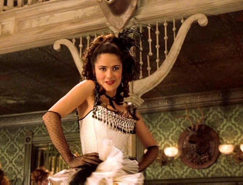 Entre la comedia y la acción, Salma convenció a los fans en Wild Wild West.