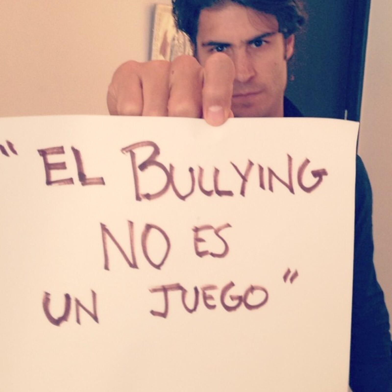 Alejandro Sirvent también mostró su postura en Instagram.