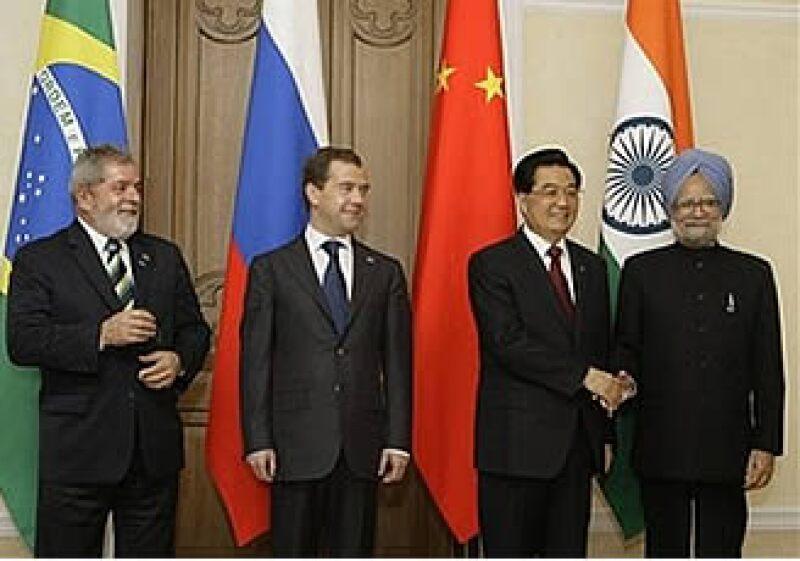 Brasil, Rusia, China e India proponen discutir una nueva divisa de referencia para los tipos cambiarios.  (Foto: AP)