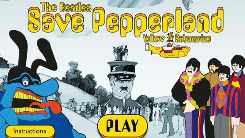 Videojuego Save Pepperland