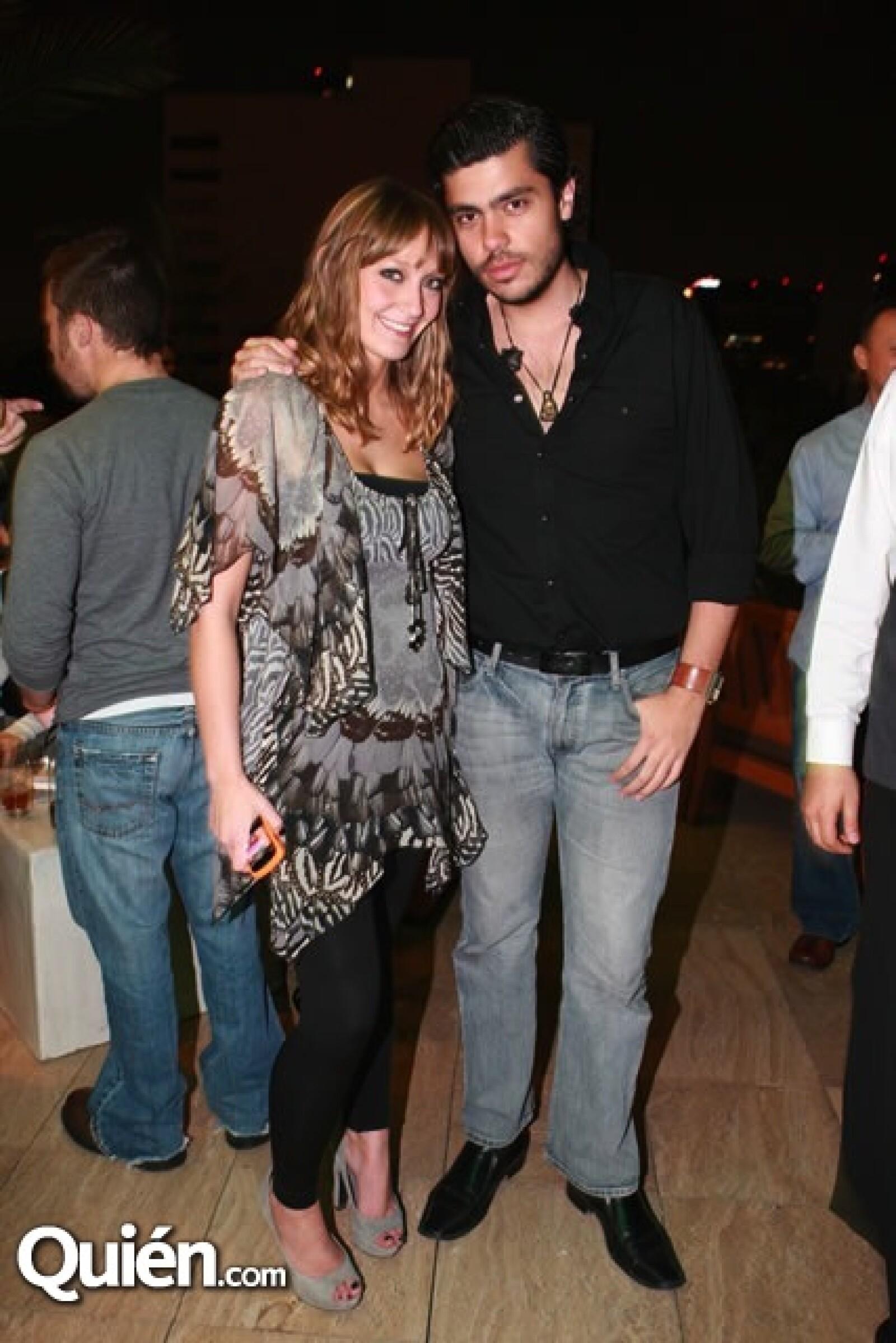 Fernanda Brime y Alberto Guillén