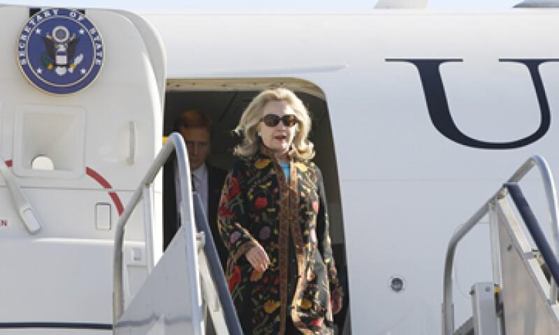 Hillary Clinton acudirá a una cena que Relaciones Exteriores dará a todos los representantes del G20. (Foto: AP)