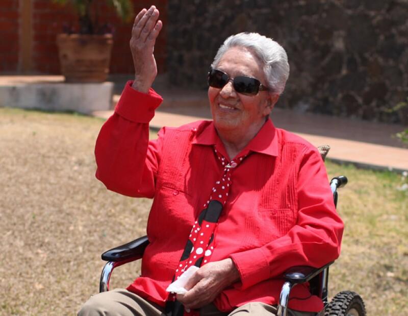 La cantante de origen costarricense se mostró con muy buen ánimo al permanecer hospitalizada en España.
