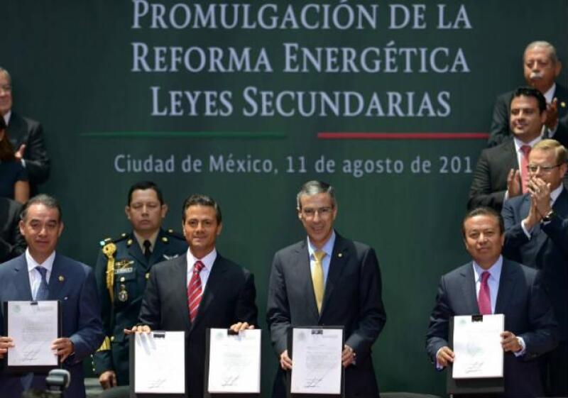 Pe�a Nieto promulga reforma energ�tica