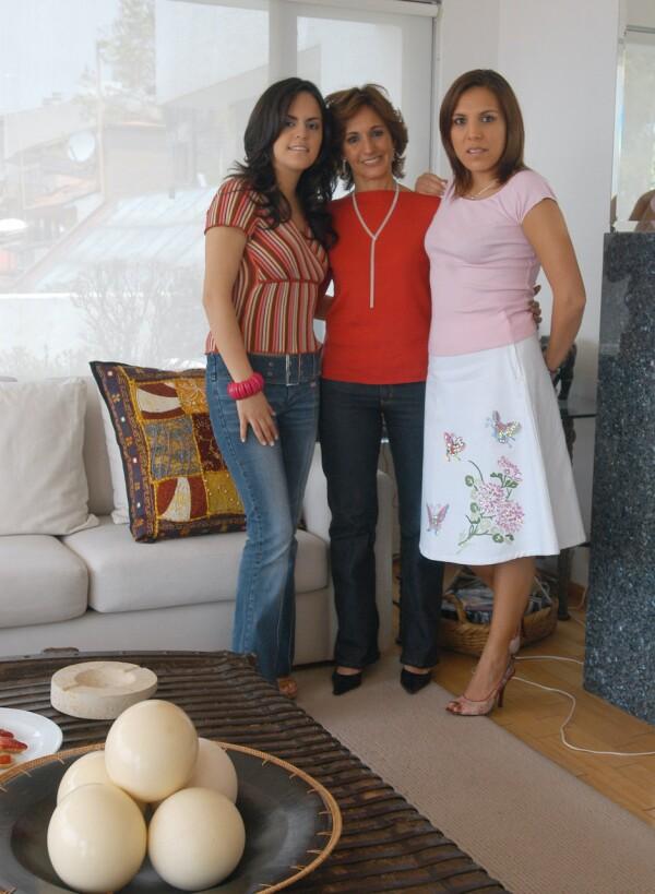 Paulina Fox, Lilian de la Concha y Ana Cristina Fox