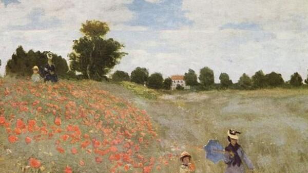 Claude Monet, Coquelicots, La promenade