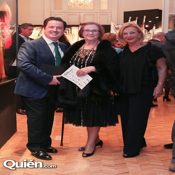 Ricardo Barroso, María del Pilar Barroso, Guadalupe Ramos Cárdenas