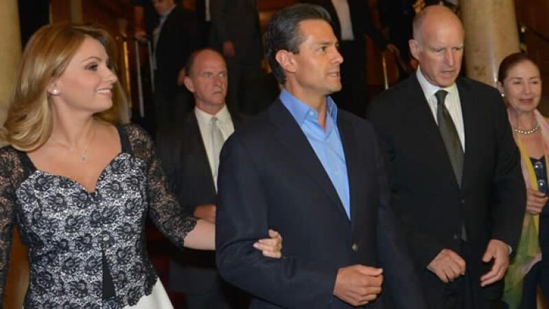 Angélica Rivera y Enrique Peña