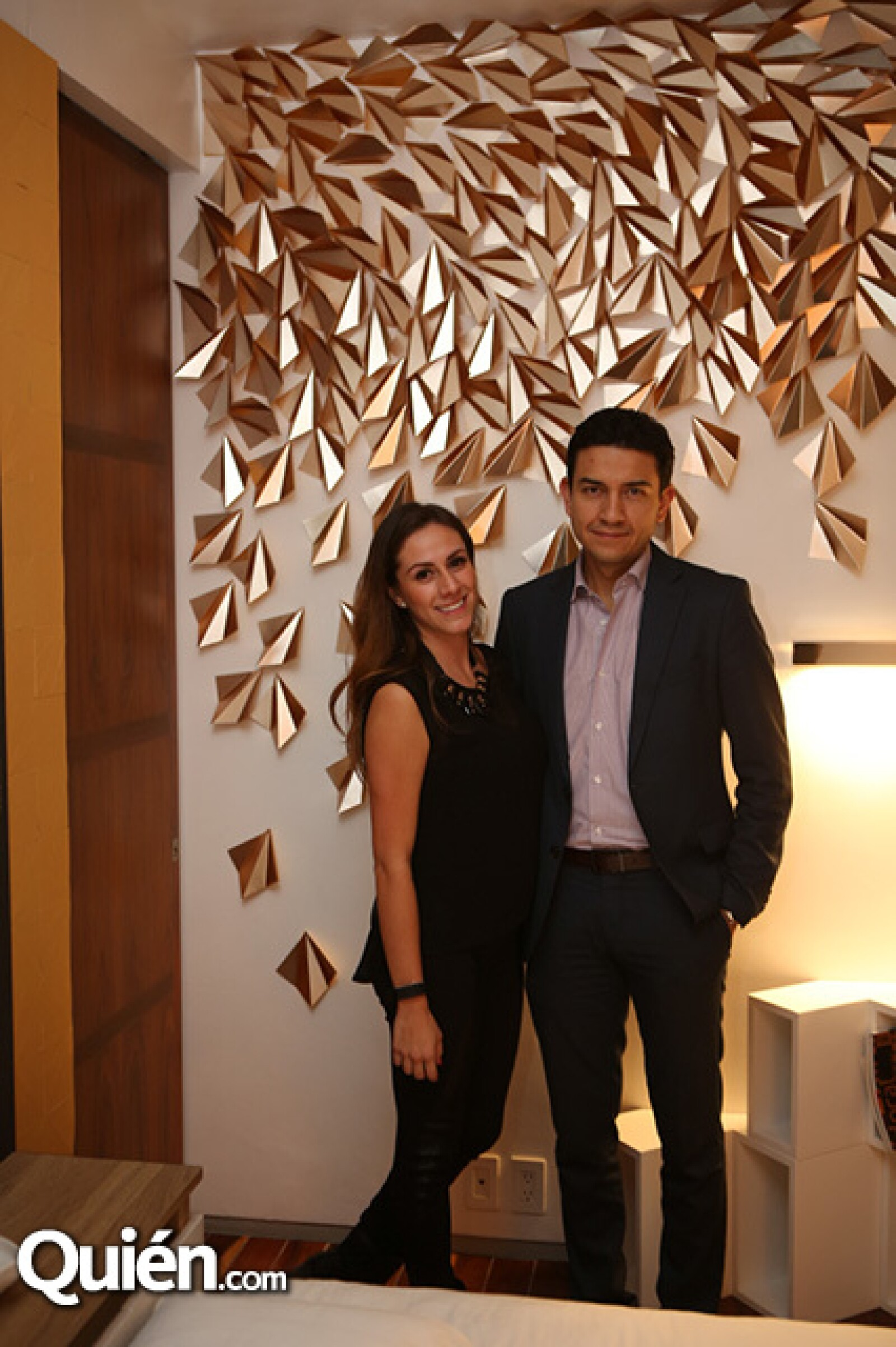 Fernanda Acévez y Guillermo Díaz