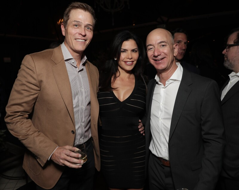 "Jeff Bezos and Matt Damon's ""Manchester By The Sea"" Holiday Party"