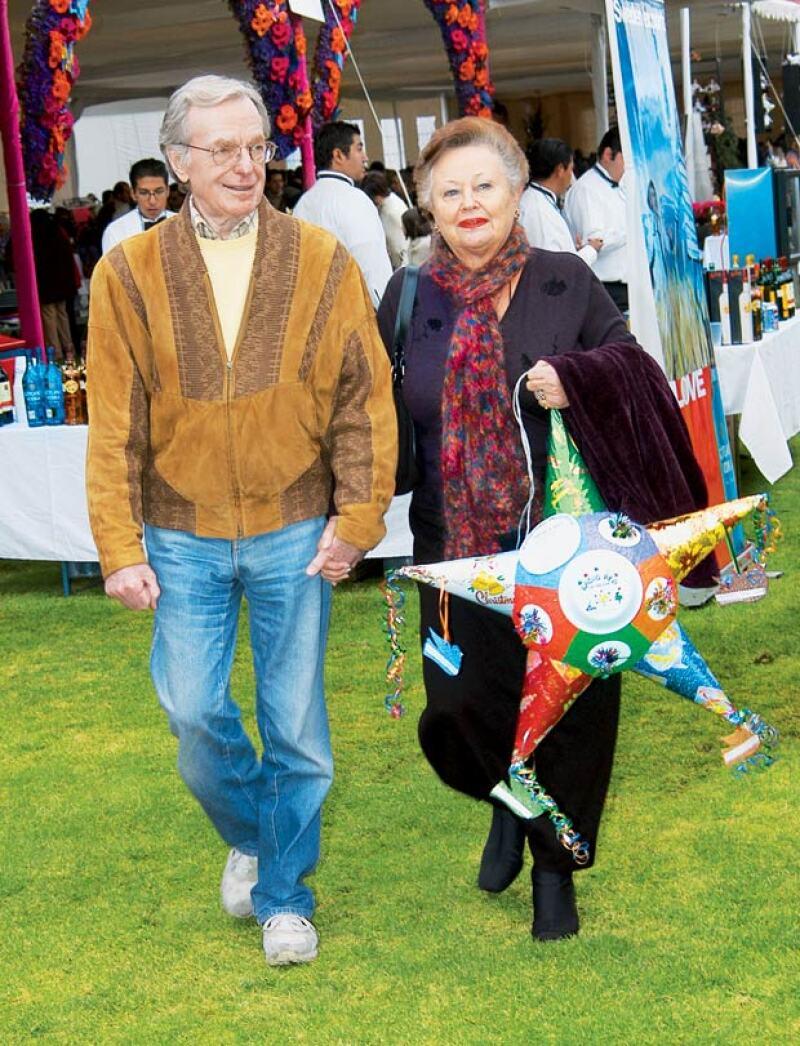 Jacobo Zabludovsky y su esposa Sarita, un amor que duro 61 años.
