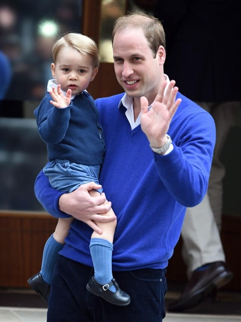 El príncipe reveló en una entrevista que George se muestra muy entusiasta ante las vacaciones, ahora que tiene la edad suficiente para entender lo que es la Navidad.