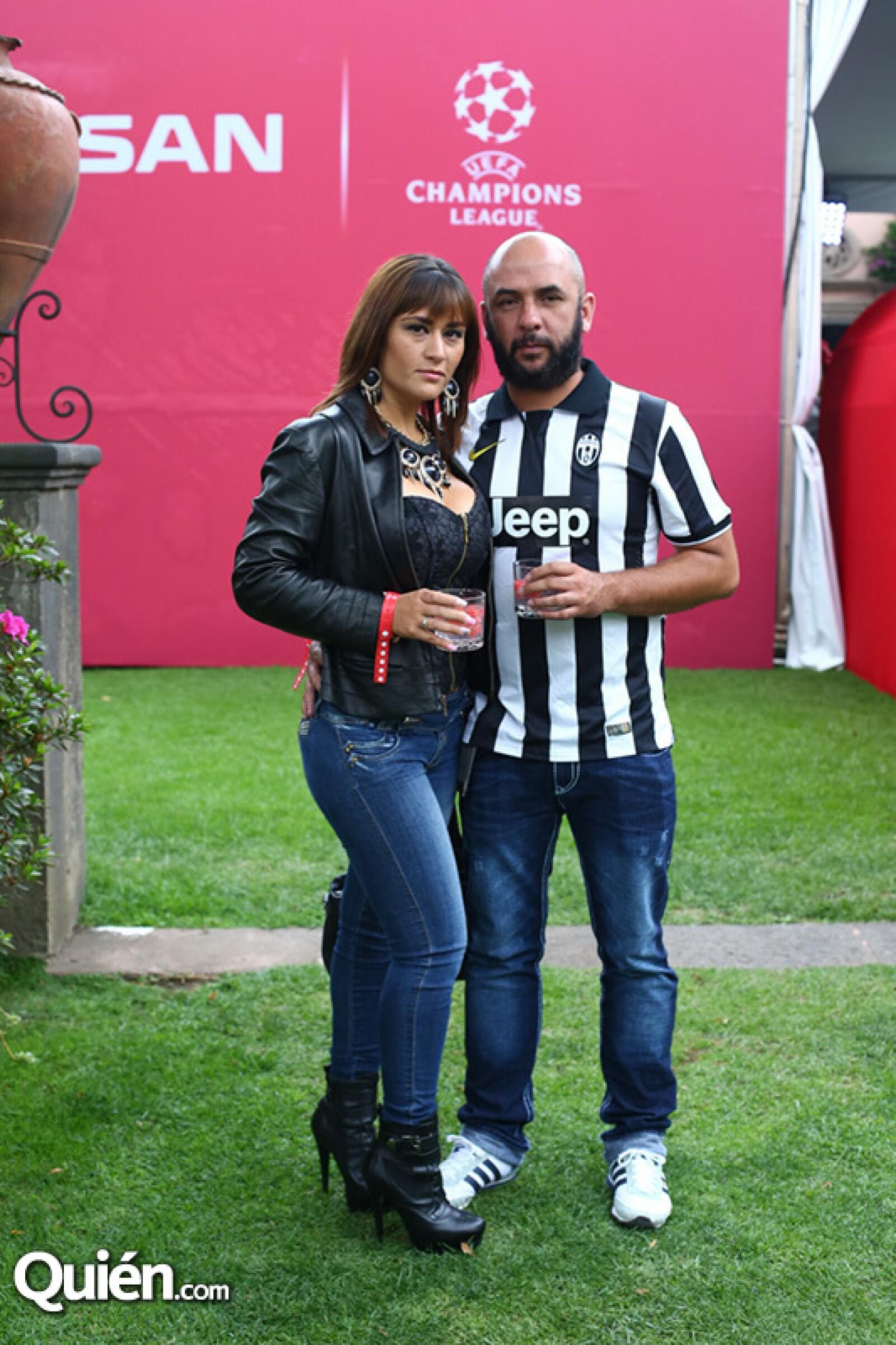 Norma Agélica González y Luis Alberto López