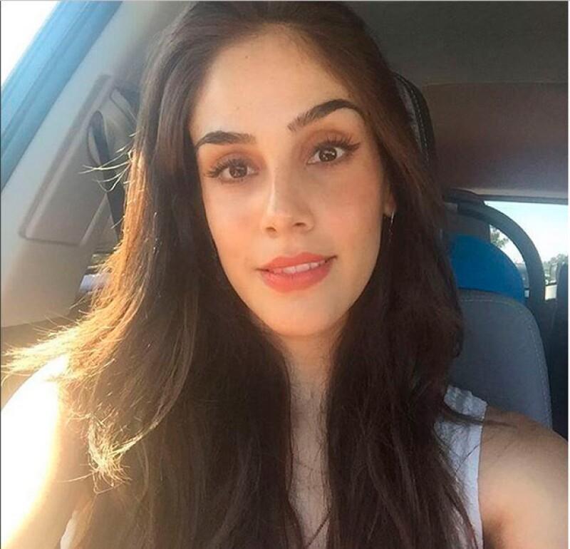 Con una selfie en la que luce muy guapa, la actriz dio a conocer que está lista para volver a sus audiciones tras el nacimiento de su hijo Andrés.
