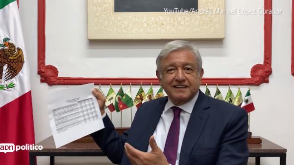 López Obrador agradece a quienes participaron en la consulta del Tren Maya